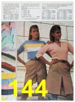 1985 Sears Spring Summer Catalog, Page 144