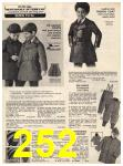 1973 Sears Fall Winter Catalog, Page 252