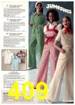 1977 Sears Spring Summer Catalog, Page 409