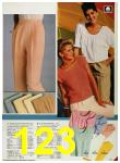 1986 Sears Spring Summer Catalog, Page 123