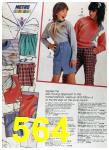 1988 Sears Fall Winter Catalog, Page 564