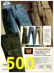 1977 Sears Fall Winter Catalog, Page 500