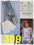 1991 Sears Spring Summer Catalog, Page 309