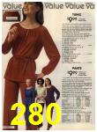1980 Sears Fall Winter Catalog, Page 280