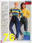 1986 Sears Fall Winter Catalog, Page 76