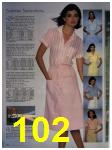 1984 Sears Spring Summer Catalog, Page 102
