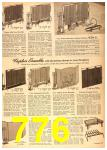 1958 Sears Spring Summer Catalog, Page 776