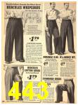 1940 Sears Fall Winter Catalog, Page 443