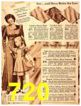 1940 Sears Fall Winter Catalog, Page 720