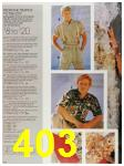 1987 Sears Spring Summer Catalog, Page 403