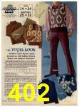 1972 Sears Fall Winter Catalog, Page 402