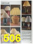 1989 Sears Home Annual Catalog, Page 506