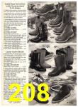 1969 Sears Fall Winter Catalog, Page 208