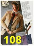 1985 Sears Fall Winter Catalog, Page 108