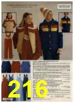 1980 Sears Fall Winter Catalog, Page 216