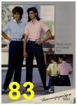 1984 Sears Spring Summer Catalog, Page 83