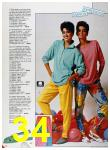 1986 Sears Spring Summer Catalog, Page 34