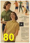 1961 Sears Spring Summer Catalog, Page 80