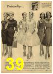 1960 Sears Spring Summer Catalog, Page 39