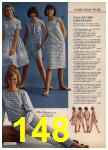 1965 Sears Spring Summer Catalog, Page 148