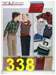 1986 Sears Fall Winter Catalog, Page 338
