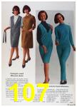 1964 Sears Fall Winter Catalog, Page 107