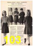 1965 Sears Fall Winter Catalog, Page 103