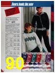 1986 Sears Fall Winter Catalog, Page 90