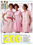 1969 Sears Spring Summer Catalog, Page 200