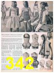 1957 Sears Spring Summer Catalog, Page 342