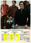 1977 Sears Fall Winter Catalog, Page 609