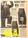 1940 Sears Fall Winter Catalog, Page 454