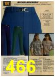 1979 Sears Fall Winter Catalog, Page 466
