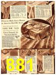 1940 Sears Fall Winter Catalog, Page 881