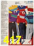 1987 Sears Fall Winter Catalog, Page 417