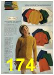 1968 Sears Fall Winter Catalog, Page 174