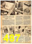 1962 Sears Fall Winter Catalog, Page 487