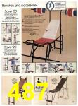 1983 Sears Spring Summer Catalog, Page 487