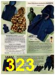 1972 Sears Fall Winter Catalog, Page 323
