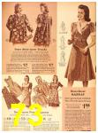1942 Sears Spring Summer Catalog, Page 73