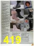 1986 Sears Fall Winter Catalog, Page 419