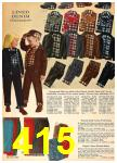 1962 Sears Fall Winter Catalog, Page 415