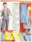 1987 Sears Fall Winter Catalog, Page 421