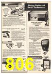 1976 Sears Fall Winter Catalog, Page 806