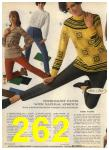 1968 Sears Fall Winter Catalog, Page 262