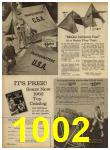 1962 Sears Spring Summer Catalog, Page 1002