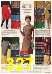 1962 Sears Fall Winter Catalog, Page 327