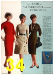 1962 Sears Fall Winter Catalog, Page 34