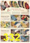 1949 Sears Spring Summer Catalog, Page 332