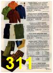 1972 Sears Fall Winter Catalog, Page 311